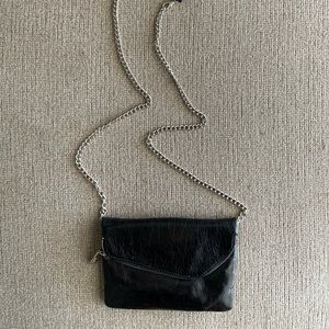 Hobo Crossbody Black Purse
